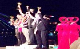 Đội Parente Fireworks (Italia) đoạt giải nhất Cuộc thi bắn pháo hoa Quốc tế Đà Nẵng 2011