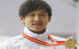 """""""Kình ngư"""" Hoàng Quý Phước giành vé tham dự Olympic 2012"""