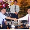 Chủ tịch nước Nguyễn Minh Triết tiếp Chủ tịch Liên đoàn Cờ vua Thế giới
