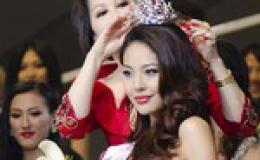 Siêu mẫu đăng quang Hoa hậu Hoàn vũ Trung Quốc