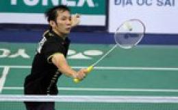 Nguyễn Tiến Minh tham dự giải cầu lông Đài Loan Grand Prix Gold 2011