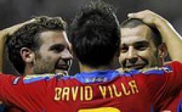 Thêm Italia và Tây Ban Nha giành vé dự EURO 2012
