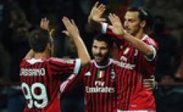 Milan tiếp tục bay cao
