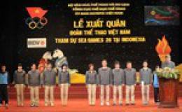 Đoàn Việt Nam quyết giành thành tích cao tại SEA Games 26