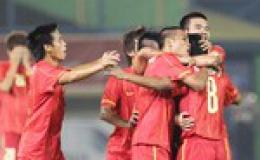 Hạ Đông Timor, U23 Việt Nam lấy lại uy thế