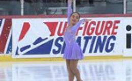 Cô bé gốc Việt vô địch trượt băng tại Mỹ