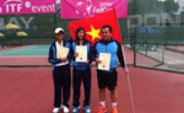 Quần vợt nữ Việt Nam lần đầu đến FED Cup