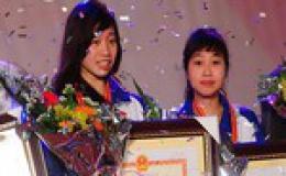 Ngân Thương giành vé đi Olympic London .