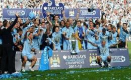 Man City lần đầu tiên vô địch Ngoại hạng Anh
