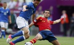 Tây Ban Nha và Ý hòa nhau 1-1 ở trận mở màn bảng C
