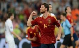 Alonso chói sáng, Tây Ban Nha vào bán kết