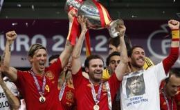 Tây Ban Nha kiếm được 23 triệu euro từ Euro 2012