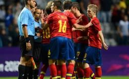 Olymlic 2012: Cú sốc đầu tiên: Olympic Tây Ban Nha bị loại sớm