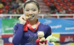 Phan Thị Hà Thanh giành danh hiệu vận động viên số một Việt Nam 2012