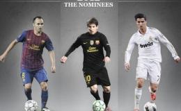 """Quả bóng vàng FIFA 2012: """"Tam mã"""" tranh hùng"""