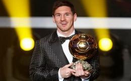 Messi lần thứ 4 đoạt Quả bóng vàng thế giới
