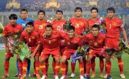 ĐT Việt Nam tăng 5 bậc trên BXH FIFA