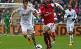 Arsenal mất Abou Diaby 9 tháng vì chấn thương