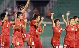 Tuyển nữ Việt Nam đè bẹp đội chủ nhà Bahrain 8-0