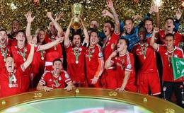 Đánh bại Stuttgart, Bayern hoàn tất cú ăn ba