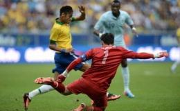 Thắng đậm Pháp, Brazil sẵn sàng cho Confed Cup