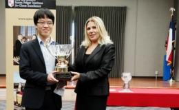 Lê Quang Liêm lần đầu lên ngôi vô địch cờ chớp thế giới