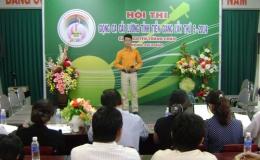 Khai mạc vòng sơ  khảo  Hội thi  Giọng  ca cải  lương  tỉnh  Tiền Giang lần thứ V- năm 2014- giải Nguyễn Thành  Châu