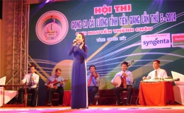 Có 8  thí  sinh  vào  vòng  chung kết  xếp  hạng Hội  thi  Giọng  ca cải  lương  tỉnh  Tiền  Giang lần  thứ V- năm 2014- giải  Nguyễn  Thành  Châu