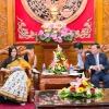 Tổng lãnh sự Ấn Độ tại Thành phố Hồ Chí Minh làm việc tại Tiền Giang