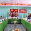 Đoàn công tác Tỉnh ủy làm việc Ban thường vụ huyện ủy Cai Lậy và thị ủy Gò Công