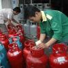 Tăng giá gas thêm 5.000 đồng/bình 12 kg