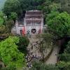 Đỉnh Đền Hùng nhìn từ không trung