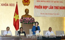 Hội đồng bầu cử quốc gia họp phiên thứ năm