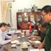 Chủ tịch UBND tỉnh làm việc với Bộ chỉ huy Bộ đội Biên phòng về công tác phục vụ bầu cử.