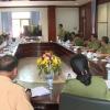 Chủ tịch UBND tỉnh kiểm tra công tác bảo đảm ninh trật tự bầu cử