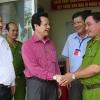 Lãnh đạo tỉnh Tiền Giang kiểm tra tiến độ bầu cử tại một số địa phương trên địa bàn tỉnh.