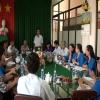 Lãnh đạo Ban Dân vận Tỉnh ủy chúc mừng Liên đoàn Lao động tỉnh nhân ngày thành lập Công đoàn Việt Nam