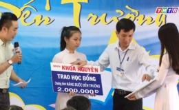 """Nâng bước đến trường """"Hoàn cảnh em Nguyễn Hoàng Thư"""""""