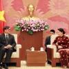 Chủ tịch Quốc hội Nguyễn Thị Kim Ngân tiếp Đại sứ Thái Lan