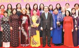 Gặp mặt các nữ Đại sứ, Trưởng cơ quan đại diện tổ chức quốc tế tại Việt Nam