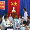 Lãnh đạo tỉnh làm việc với huyện Tân Phú Đông