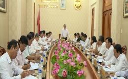 Thường trực UBND tỉnh Tiền Giang họp thành viên
