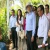 Bàn giao công trình đường ống dẫn nước cho huyện Tân Phú Đông