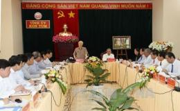 Tổng Bí thư Nguyễn Phú Trọng: Kon Tum có nhiều triển vọng đi lên