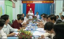 Ban Kinh tế ngân sách HĐND tỉnh làm việc Liên minh Hợp tác xã