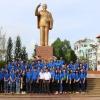 Chi đoàn Đài Phát thanh – Truyền hình Tiền Giang về nguồn tại TP. Cần Thơ