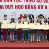 """Giao lưu giữa các em học sinh dự án """"Ươm mầm tương lai""""  với tỉnh Tiền Giang"""