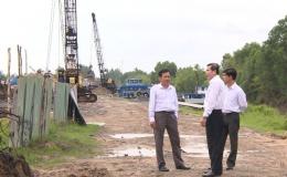 Chủ tịch UBND tỉnh Tiền Giang kiểm tra các công trình gây bức xúc trong dư luận