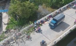 Mất an toàn giao thông ở Cầu Thầy Cai, huyện Cai Lậy