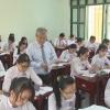 Học sinh lớp 12 chuẩn bị thi THPT Quốc gia năm 2017